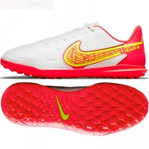 Buty Nike Jr. Tiempo Legend 9 Club TF DA1334 176 biały 38