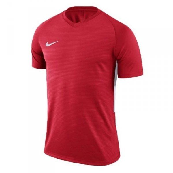 Koszulka Nike Y Tiempo Premier JSY SS 894111 657 czerwony M (137-147cm)