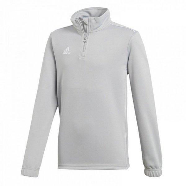 Bluza adidas CORE 18 TR TOP CV4142 szary 164 cm