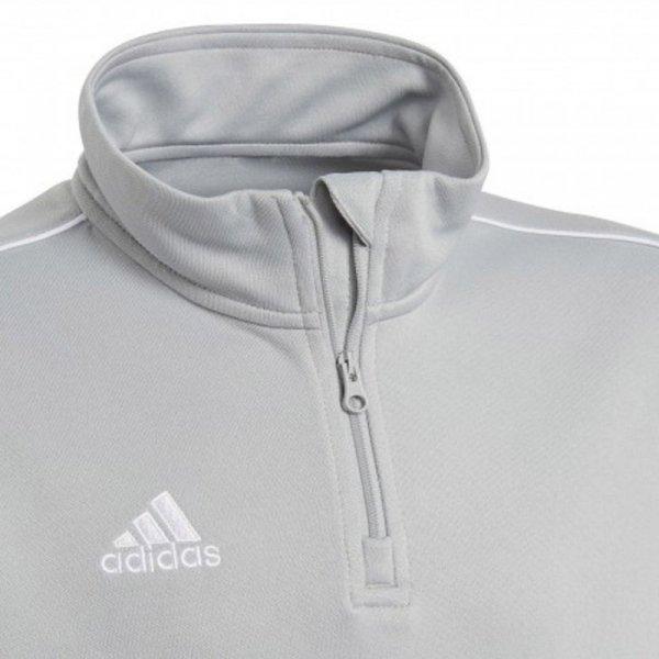 Bluza adidas CORE 18 TR TOP CV4142 szary 140 cm