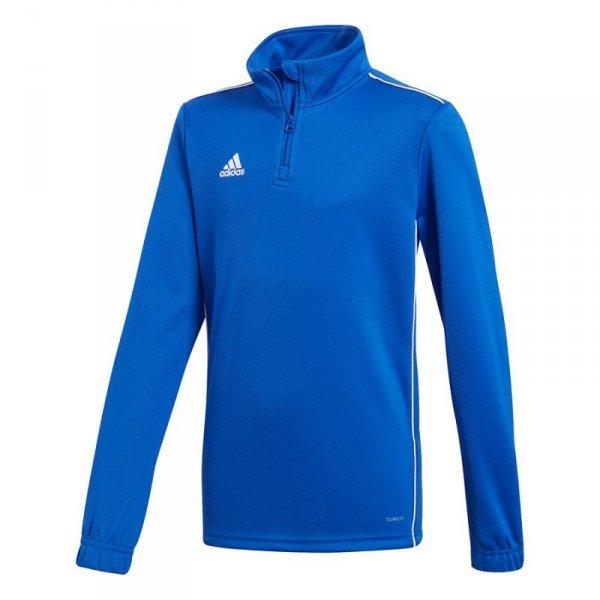 Bluza adidas CORE 18 TR TOP Y CV4140 niebieski 164 cm