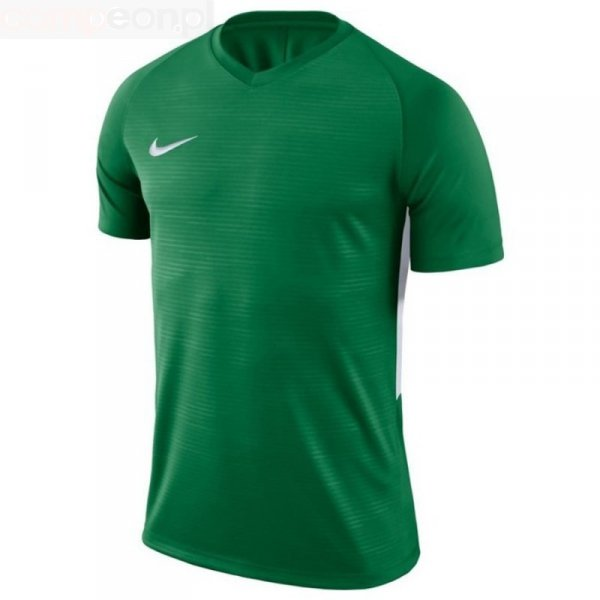 Koszulka Nike Y Tiempo Premier JSY SS 894111 302 zielony XS (122-128cm)