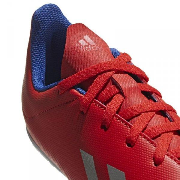 Buty adidas X 18.4 IN J BB9410 czerwony 30