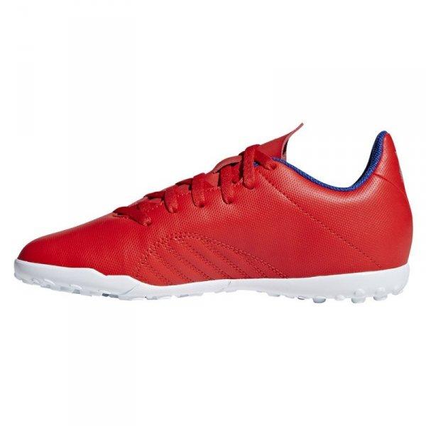 Buty adidas X 18.4 TF J BB9417 czerwony 38 2/3