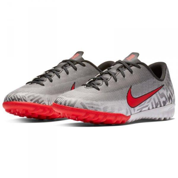 Buty Nike JR Mercurial Vapor 12 Academy Neymar TF AO9476 170 biały 37 1/2