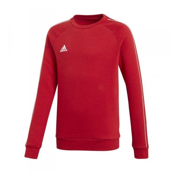 Bluza adidas CORE 18 SW Top Y CV3970 czerwony 128 cm