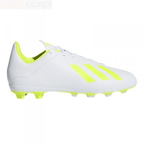 Buty adidas X 18.4 FxG J BB9380 biały 37 1/3