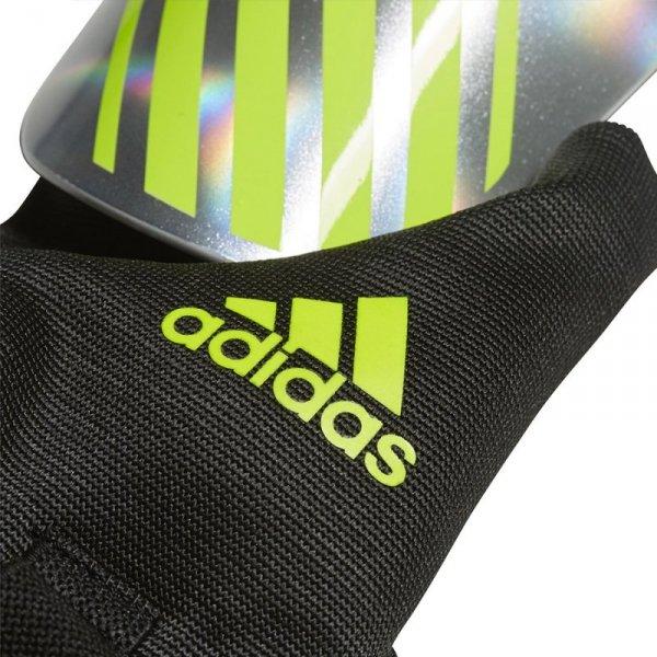 Nagolenniki adidas X Reflex DN8600 srebrny XL