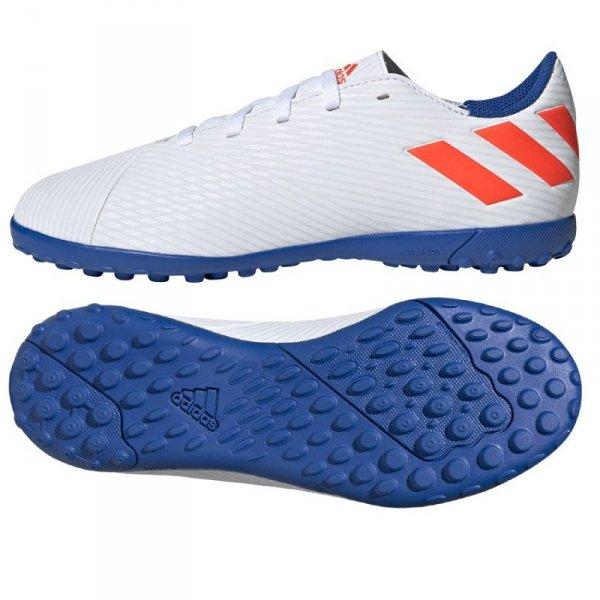 Buty adidas Nemeziz Messi 19.4 TF F99929 biały 38