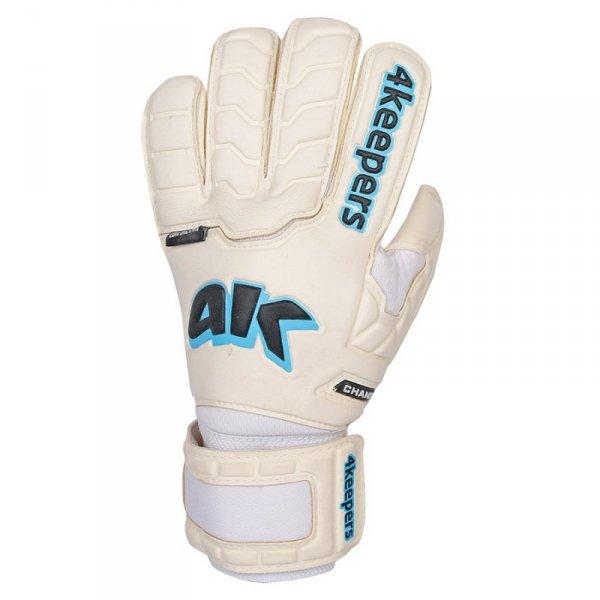 Rękawice 4keepers Champ Aqua Contact IV RF + płyn czyszczący biały 9,5