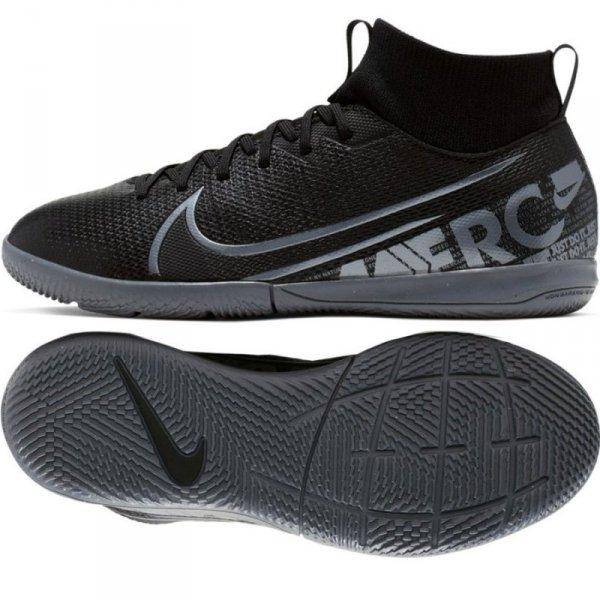 Buty Nike JR Mercurial Superfly 7 Academy IC AT8135 001 czarny 34