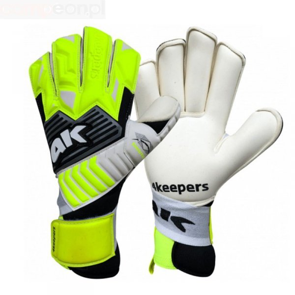 Rękawice 4keepers Diamo Chriso RF + płyn czyszczący zielony 10