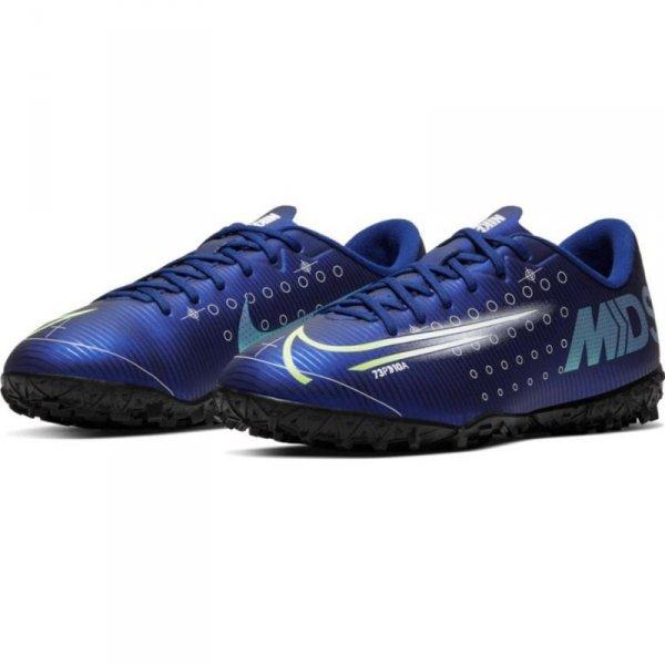 Buty Nike JR Mercurial Vapor 13 Academy MDS TF CJ1178 401 niebieski 35 1/2