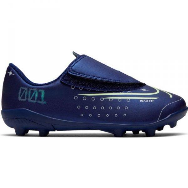 Buty Nike JNR Mercurial Vapor 13 Club MDS MG PS (V) CJ1149 401 niebieski 28 1/2