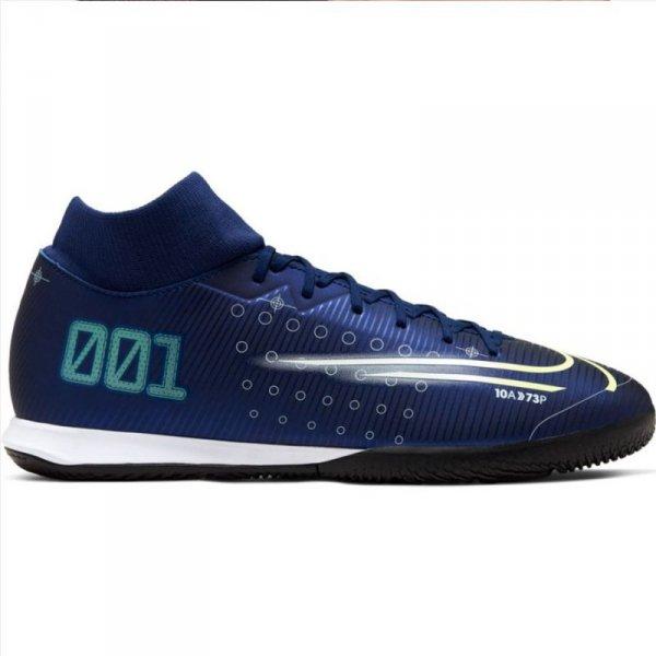 Buty Nike Mercurial Superfly 7 Academy MDS IC BQ5430 401 niebieski 40