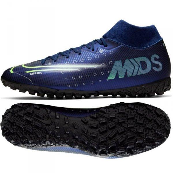 Buty Nike Mercurial Superfly 7 Academy MDS TF BQ5435 401 niebieski 44 1/2
