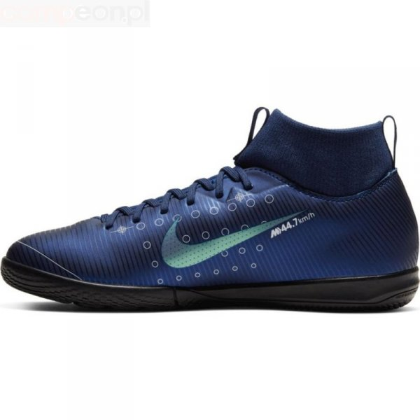 Buty Nike JR Mercurial Superfly Academy MDS IC BQ5529 401 niebieski 33 1/2