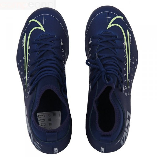 Buty Nike JR Mercurial Superfly 7 Club MDS FG/MG BQ5418 401 niebieski 37 1/2