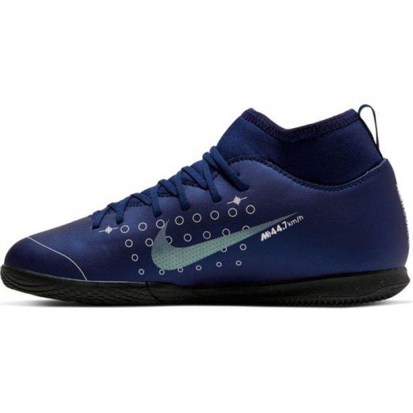 Buty Nike JR Mercurial Superfly 7 Club MDS IC BQ5417 401 niebieski 35