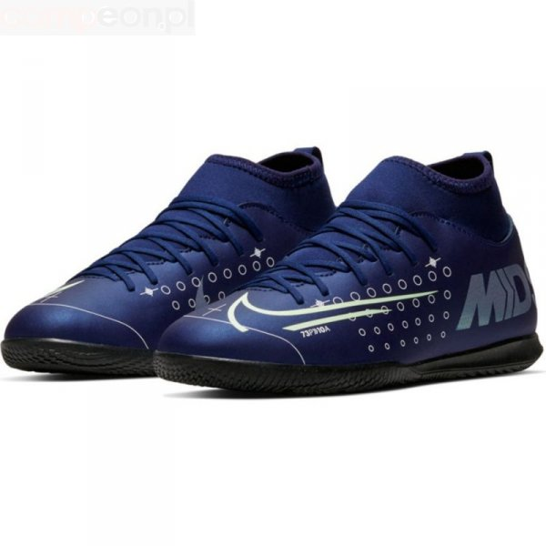 Buty Nike JR Mercurial Superfly 7 Club MDS IC BQ5417 401 niebieski 37 1/2