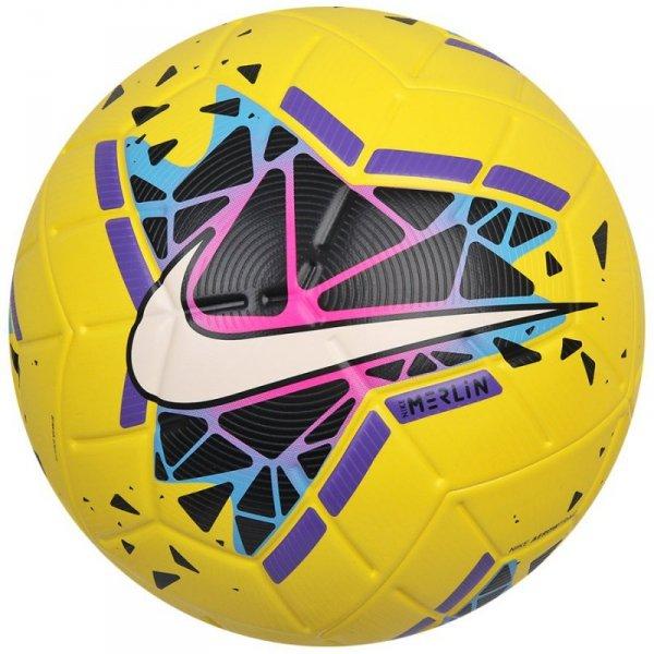 Piłka Nike Merlin SC3635 710 żółty 5