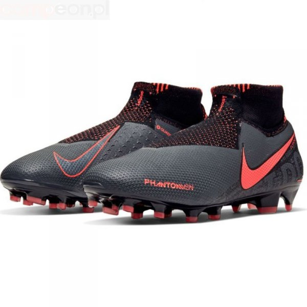 Buty Nike Phantom VSN Elite DF FG AO3262 080 szary 45