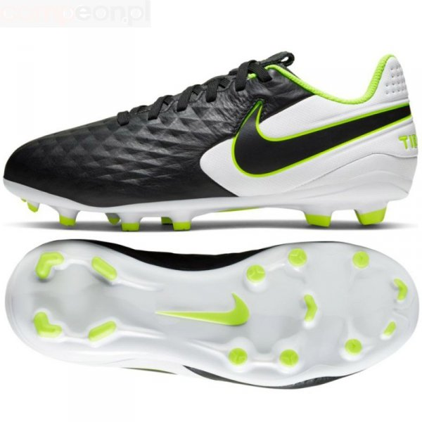 Buty Nike JR Tiempo Legend 8 Academy FG/MG AT5732 007 czarny 38