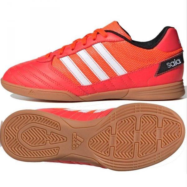 Buty adidas Super Sala J FV2639 czerwony 35