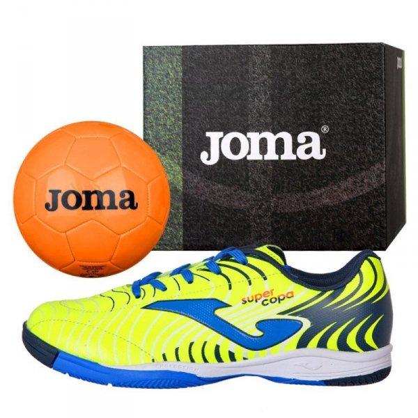 Buty Joma Super Copa JR 2011 IN SCJS.2011.IN + Piłka Gratis żółty 31