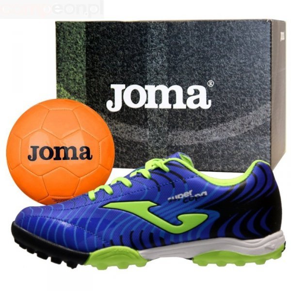Buty Joma Super Copa JR 2004 TF SCJS.2004.TF + Piłka Gratis niebieski 31