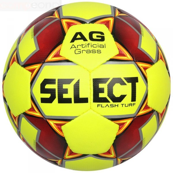 Piłka Select Flash Turf S122590 żółty 4