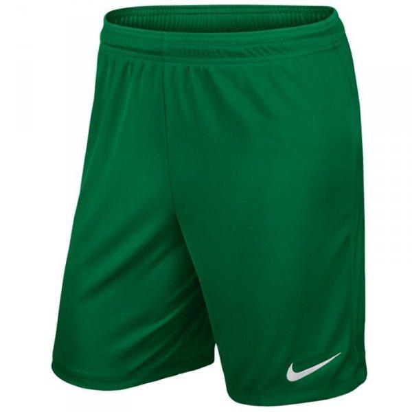 Spodenki Nike Park II Knit Junior 725988 302 zielony XS
