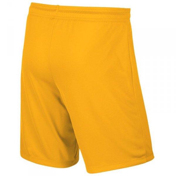 Spodenki Nike Park II Knit Junior 725988 739 żółty XL (158-170cm)
