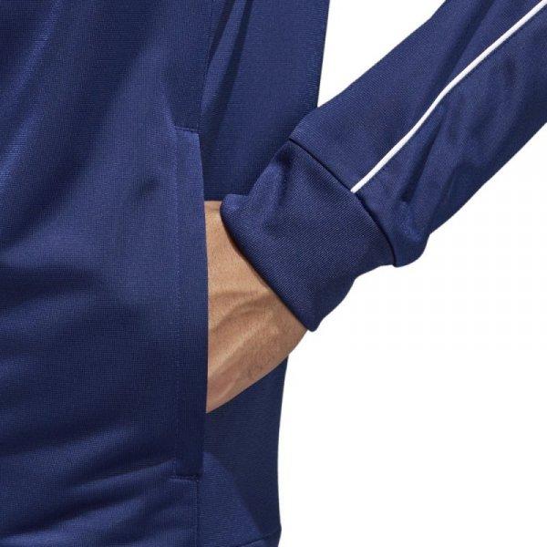 Bluza adidas CORE 18 PES JKT CV3563 granatowy S