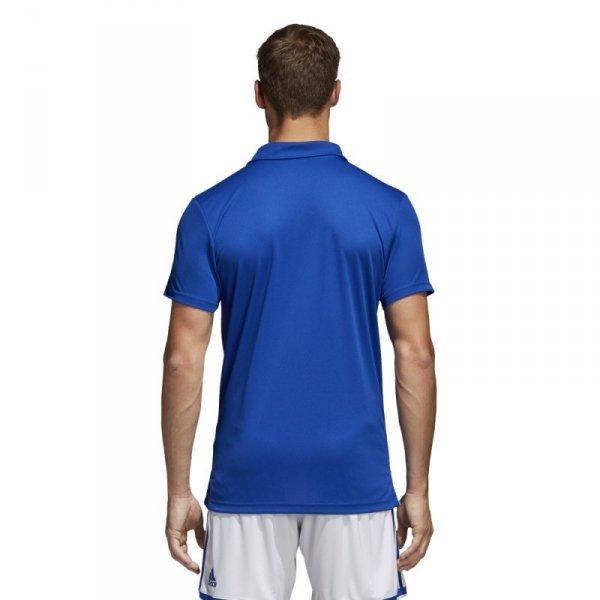 Koszulka adidas Polo Core 18 CV3590 niebieski XXL