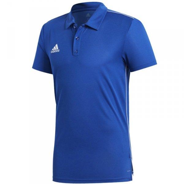 Koszulka adidas Polo Core 18 CV3590 niebieski S