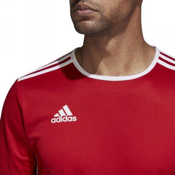Koszulka adidas Entrada 18 JSY CF1038 czerwony M
