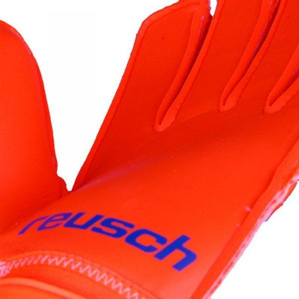 Rękawice Reusch Prisma SG Extra 38 70 835 296 pomarańczowy 10,5