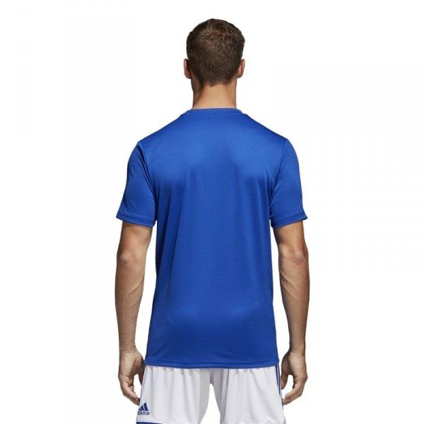 Koszulka adidas Core 18 Tee CV3451 niebieski M