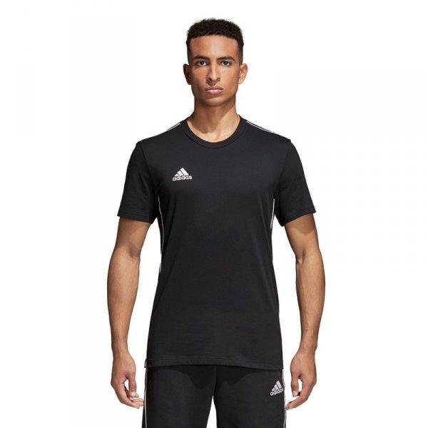 Koszulka adidas CORE 18 Tee CE9063 czarny M