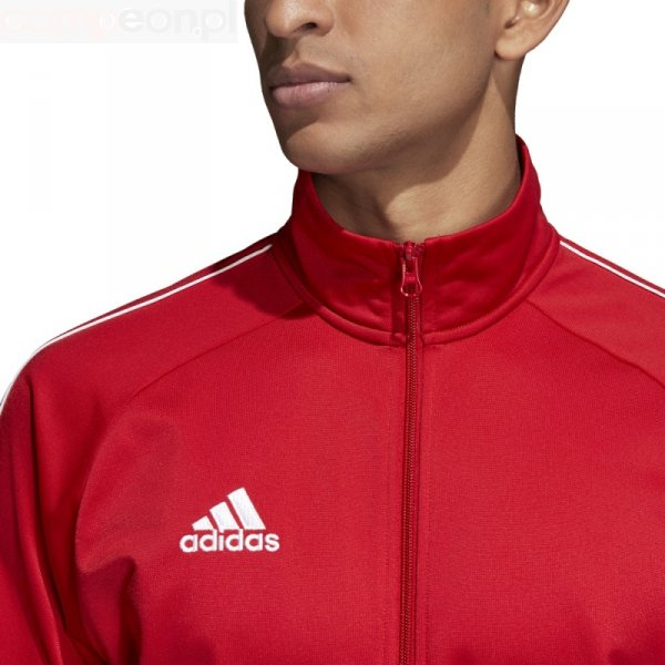 Bluza adidas CORE 18 PES JKT CV3565 czerwony M