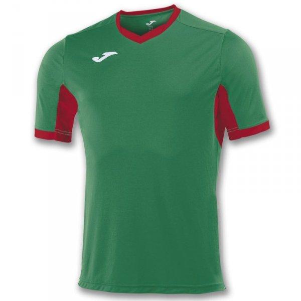 Koszulka Joma Champion IV 100683.456 zielony 128 cm