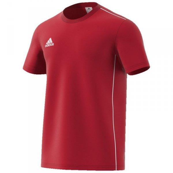 Koszulka adidas Core 18 Tee CV3982 czerwony S