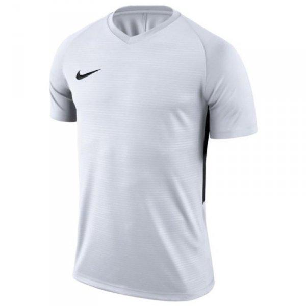 Koszulka Nike Y Tiempo Premier JSY SS 894111 100 biały XS (122-128cm)