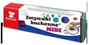 KUCHCIK 3001 GĄBKA DO NACZYŃ MIDI A10