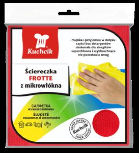 KUCHCIK ŚCIERECZKA MIKROFIBRA FROTTE 30x30 A1
