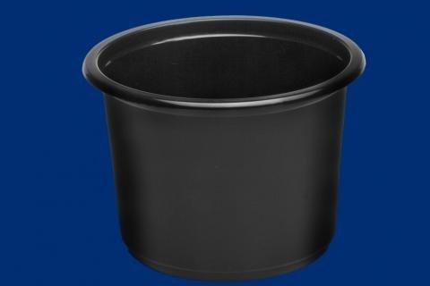 Pojemnik okrągły do zupy czarny 8118 500ML W1 01 A50