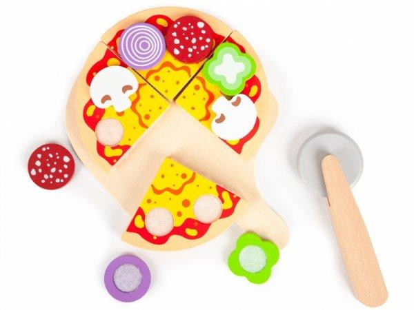 Drewniany piec do pizzy +dodatki kuchnia Ecotoys