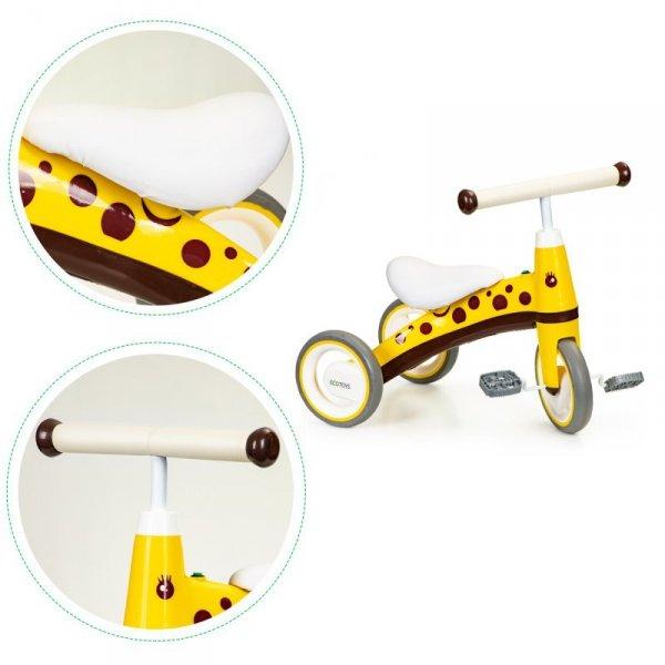 Rowerek trójkołowy z pedałami jeździk mini rower