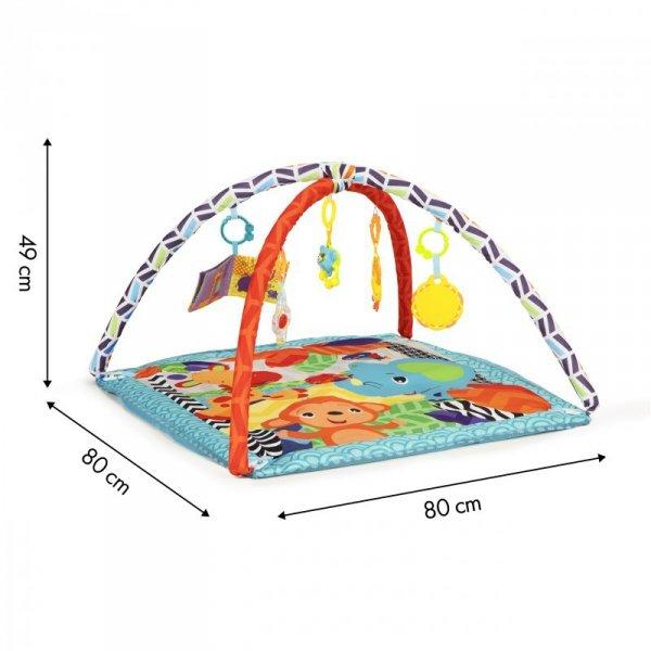 Mata edukacyjna dla niemowląt 2w1 zabawki 18 piłek